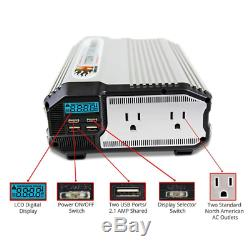 2000-Watt 12-Volt Power Inverter