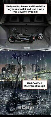 2020 MAX2 48 Volt 2400 Watt Electric E Scooter Portable Light and Powerful 45Mph