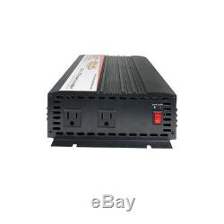 DC to AC Power Inverter Continuous Power 2000 Watts, 24 Volts (PI-24110-2000)