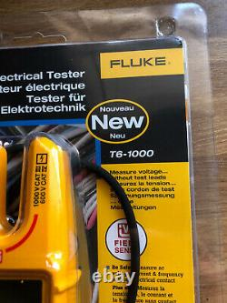 Fluke T6-1000 Electrical Multimeter Electricians Power Tester Amps Volts Watts