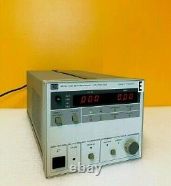 HP / Agilent 6033A 0 to 20 Volts 0 to 30 Amps 600 Watts DC Power Supply Tested