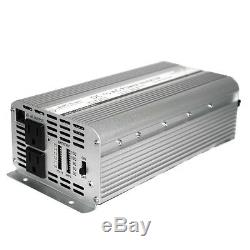 Pwrinv1250w Aims 1250 Watt 12 Volt Modified Sine Wave Power Inverter New