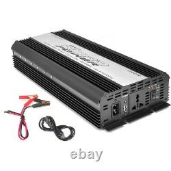 Pyle PINV1500 Plug In Car 1500 Watt 12V DC to 115 Volt AC Power Inverter with